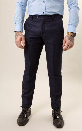 Fratelli Uniti Navy Trousers