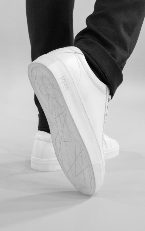 Cavani Calum Best White Sneakers