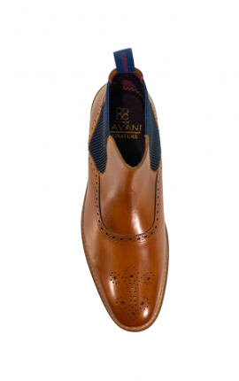 Cavani Moriarty Tan Boots