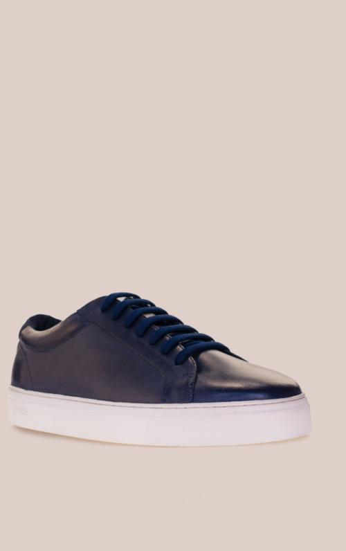 Cavani Calum Best Navy Sneakers