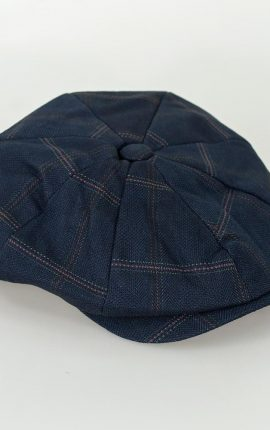 Cavani Connall Navy Baker Boy Cap