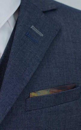 Cavani Steele Blue Boys Suit