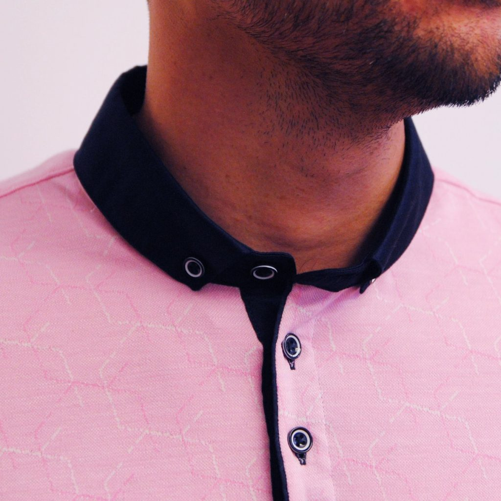 Bewley and Ritch Astro Pink Polo Shirt