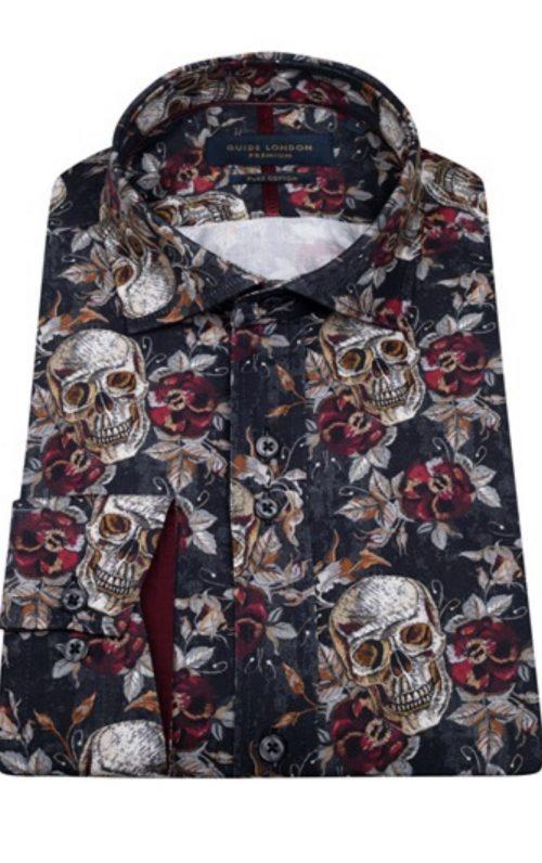 Guide London Skulls and Roses Shirt